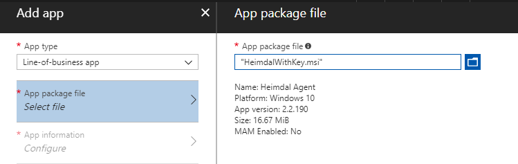 Deploy Heimdal Security with Microsoft Intune | Peter